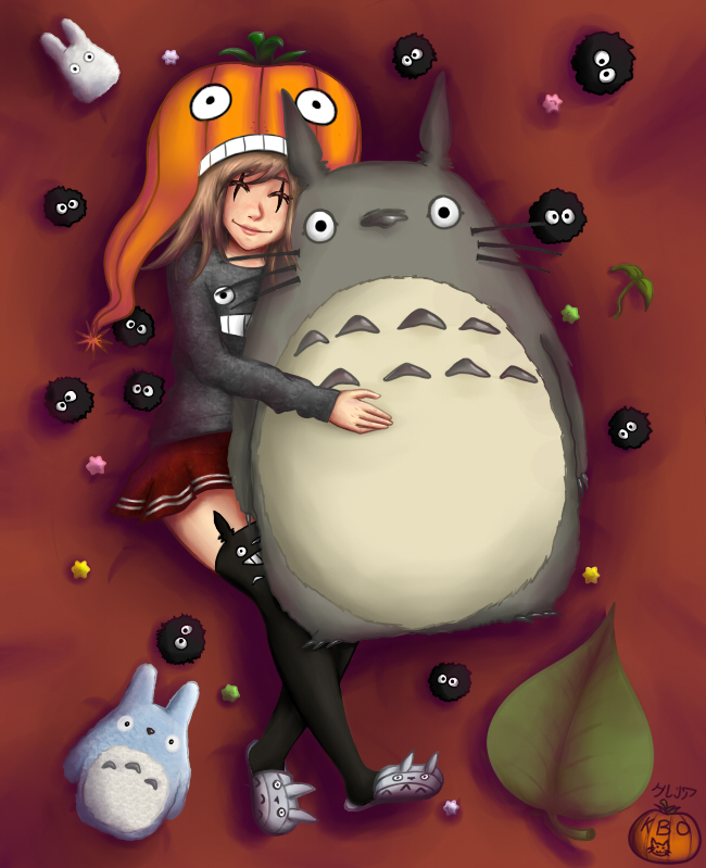 Kabosha and Totoro final! by Kabosha