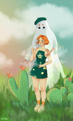 Draw this in your style from la fille-cactus