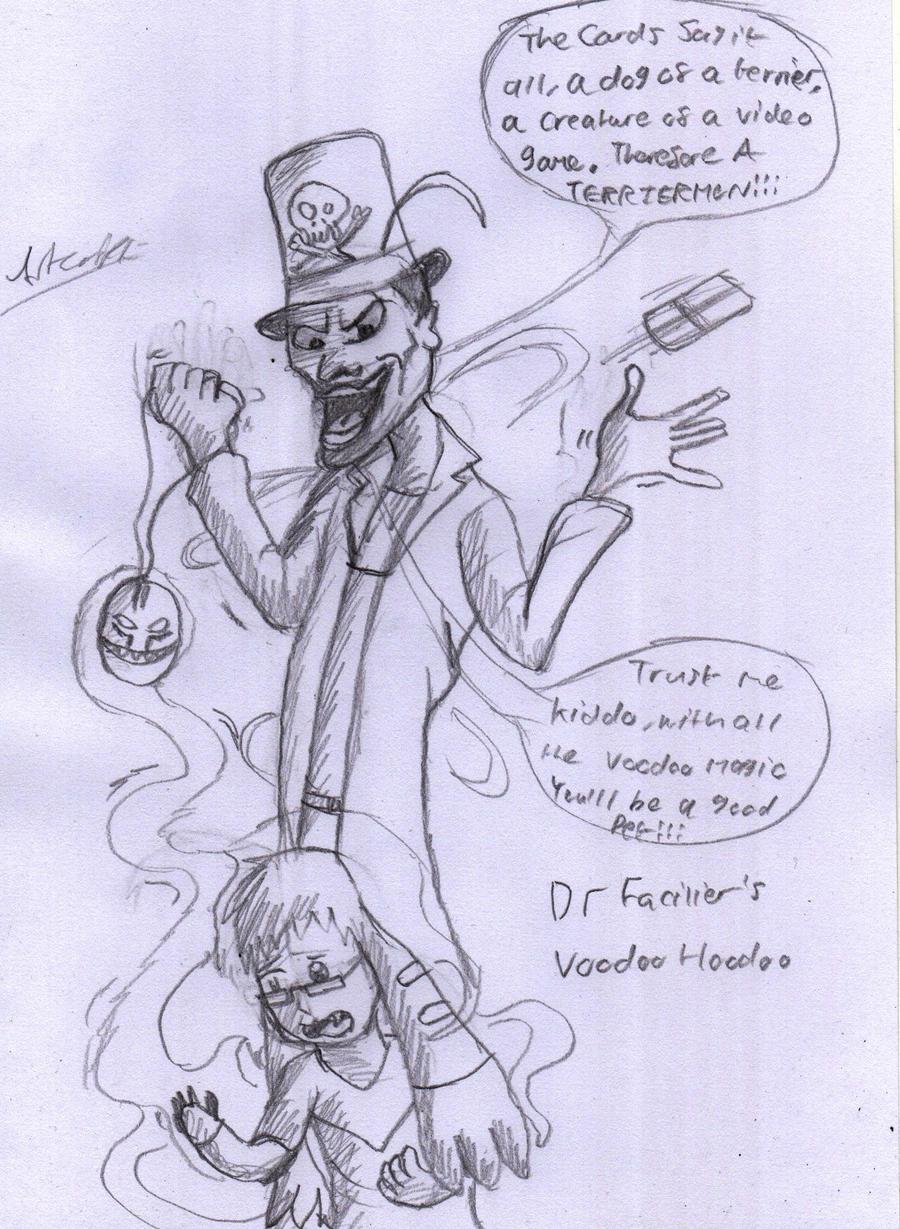 Voodoo Hoodoo by Artooinst
