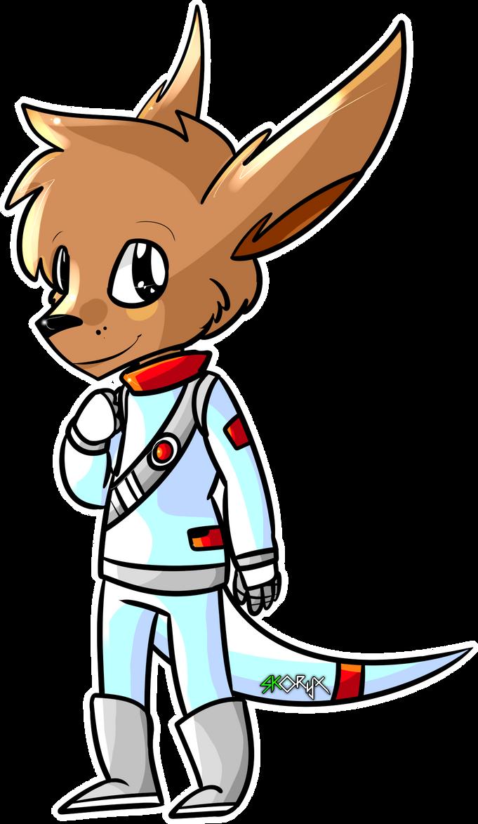 Space Roo by Artooinst
