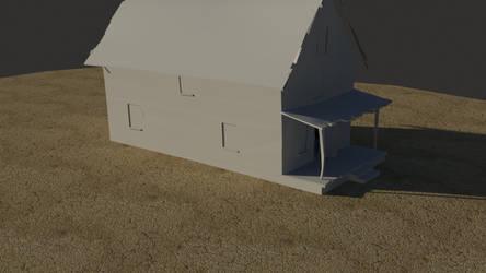 CourageTheCowardlyDog: House01 by TootsieHG