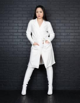 Kimmy in White