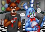 Foxiplier Vs ToyBonnie