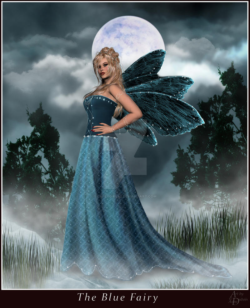 Blue Fairy by CaperGirl42