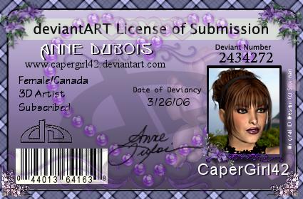 CaperGirl42's Profile Picture