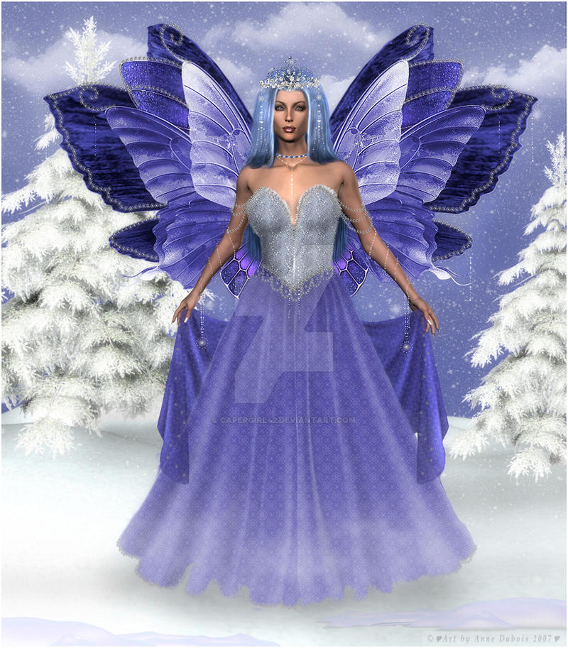 Winter Fairy by CaperGirl42