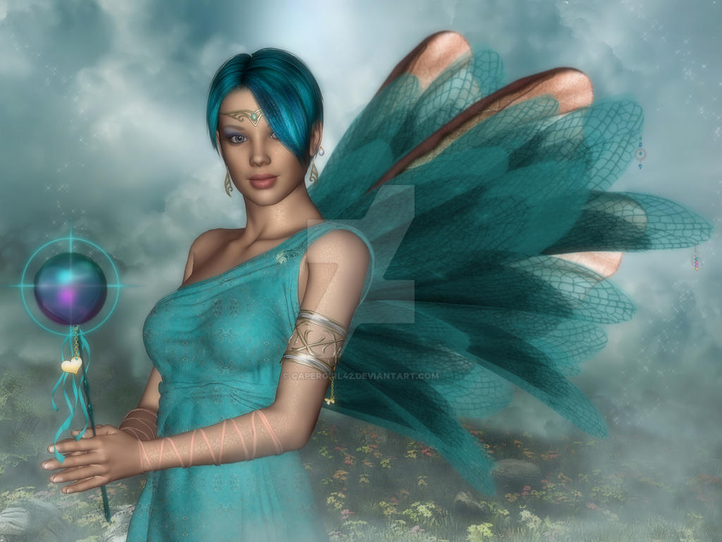 Agua Mist-For luciferino by CaperGirl42