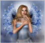 Angel Fae in Blue