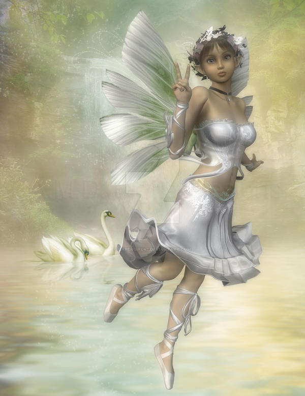 Peace Fairy by CaperGirl42
