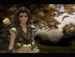 Idril AncalA mon the warrior elf