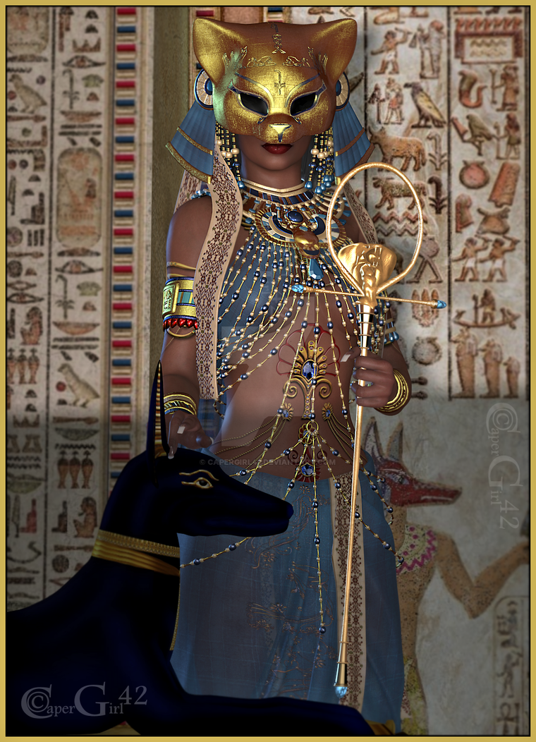 CG42 Egyptian Beauty by CaperGirl42