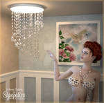 CG42 Chandelier Prop Set for DS by Lully