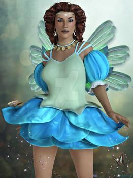 Blue Fairy God Mother