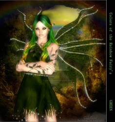 Rainbow Fairy Green