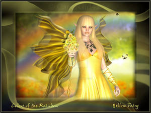 Colors of the Rainbow Fairy- Yellow Mellow