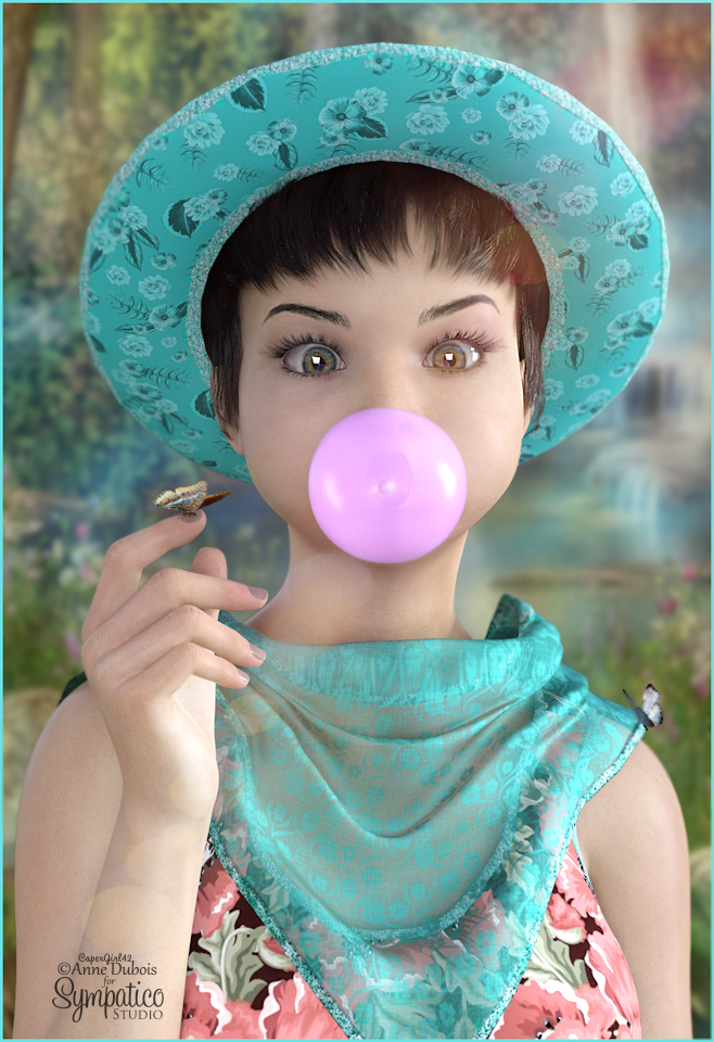 Violet and her Bubble