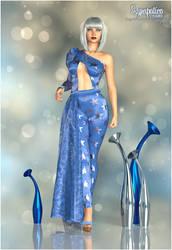 Atomique in Blue