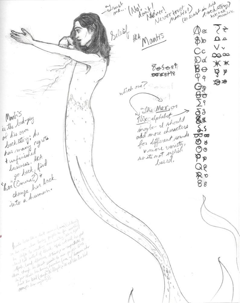 Mantis Notes by HBPen