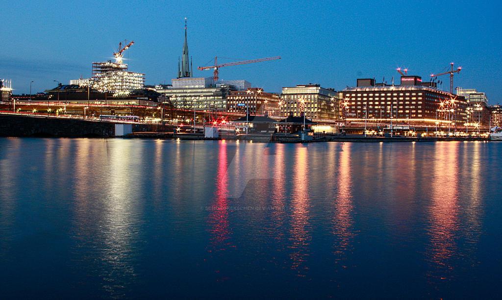 Stockholm by Night by ScHoKoKeKsChEn