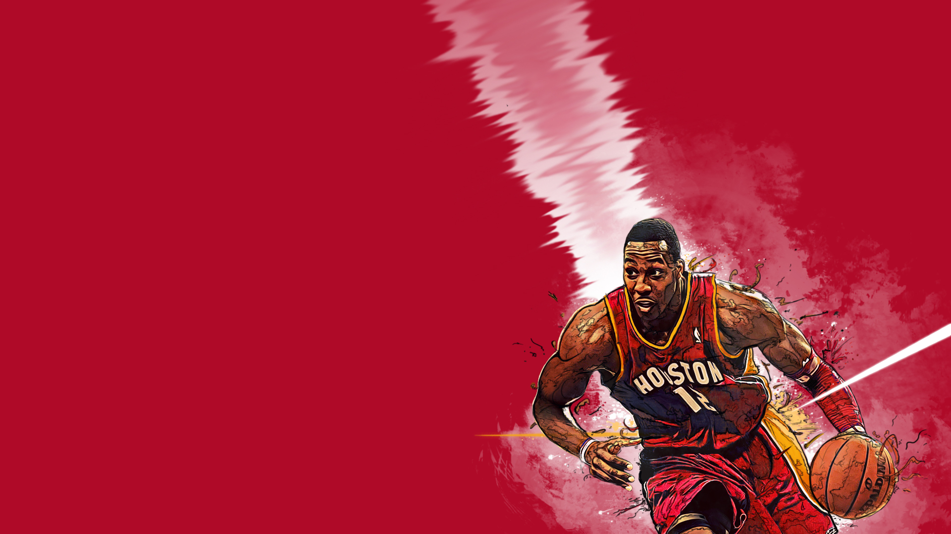 dwight howard houston rockets wallpaper by nemac86 on