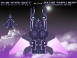 NEXT-00 ''Purple Beam'' by SturmvogelPrime