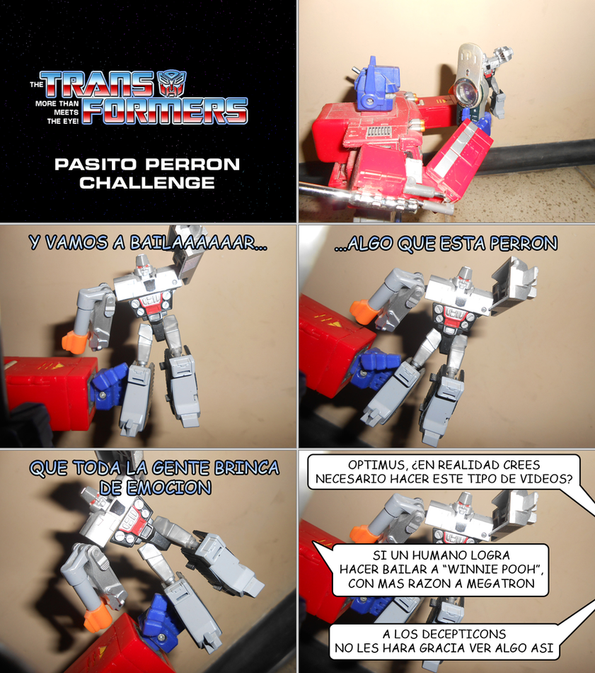 The Transformers - Pasito Perron by SturmvogelPrime