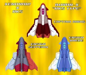 Xenoraid x RKS - Buran-X RKS Type by SturmvogelPrime