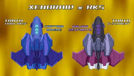 Xenoraid-RKS - Tanto Trau-RKSF and G-Schwert