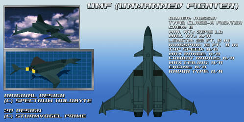 Falcon 3.0/MiG-29 UMF (Unmanned Fighter)
