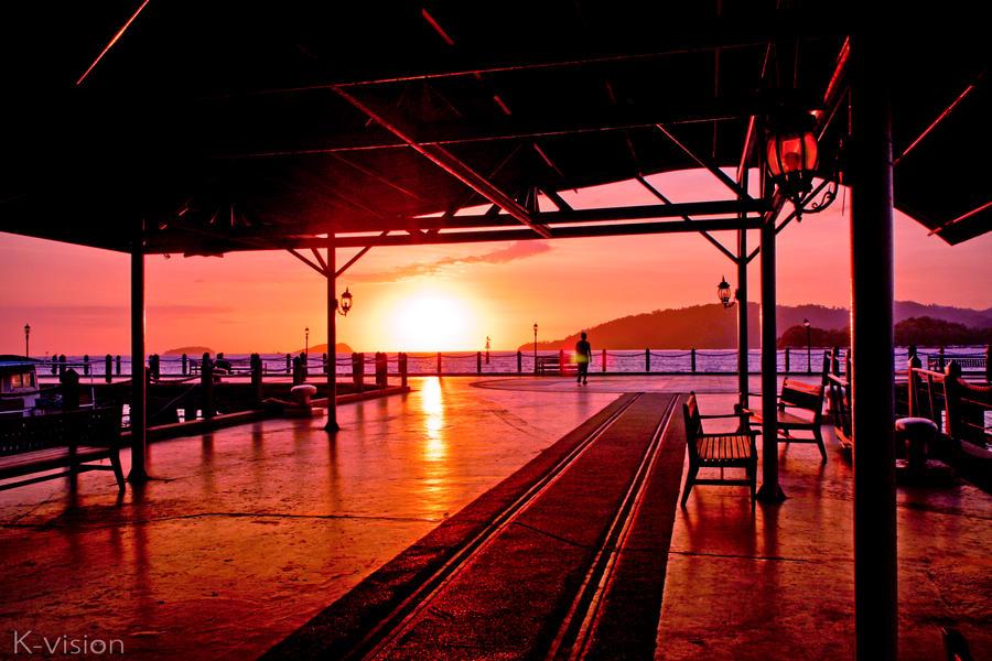 Sunset by Khaled-vision