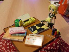 Rin the little Artist by Mako-chan89