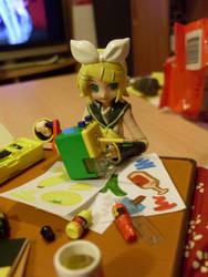 Rin the little Artist 7