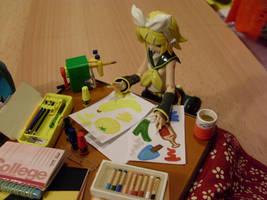 Rin the little Artist 6