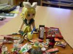 Rin wants chocolate