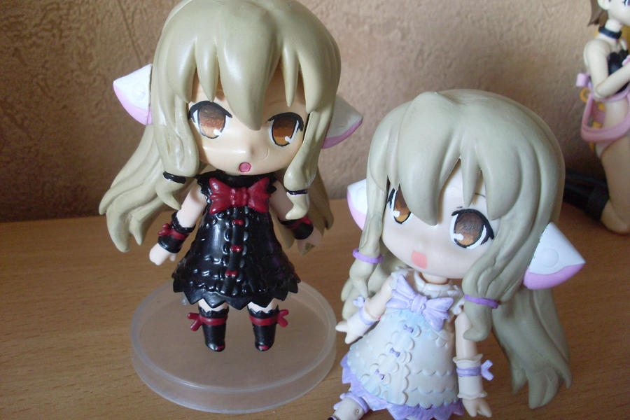 Freya and Chii Nendoroid by Mako-chan89