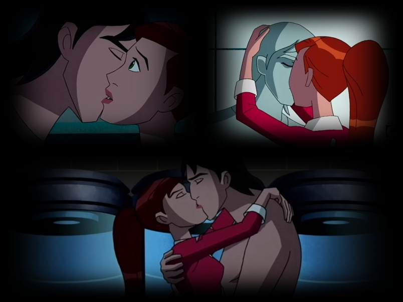 GWEVIN KISSING SCENES COLLAGE by alienforce20 on DeviantArt