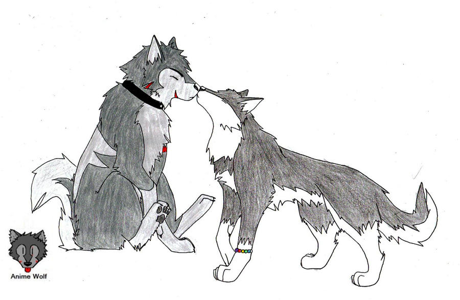 Love is love by animewolf94 on deviantart - Anime wolves in love ...