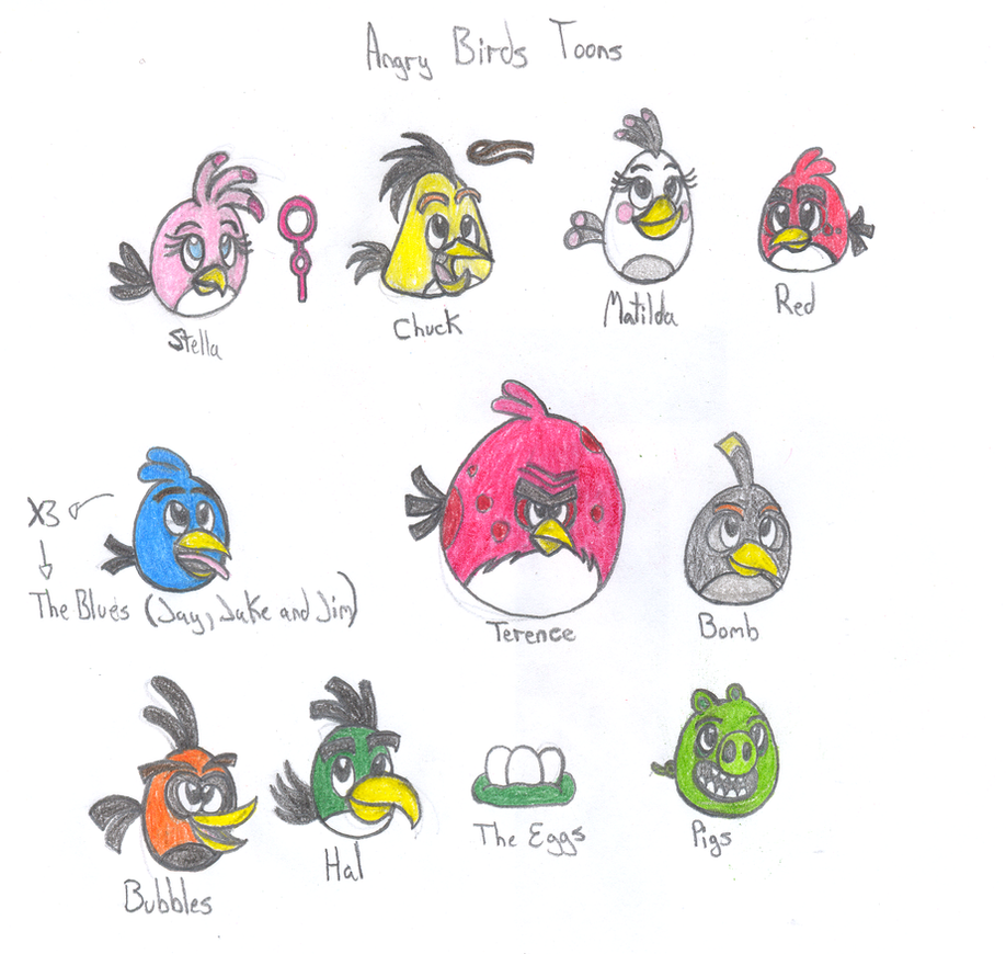 angry birds all characters - photo #4