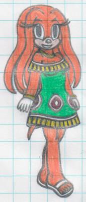 [S-P] - Tikal's dress
