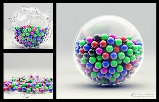 Candy Glass (Broken)