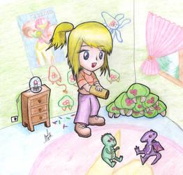 Little Metroid fan by Manolink