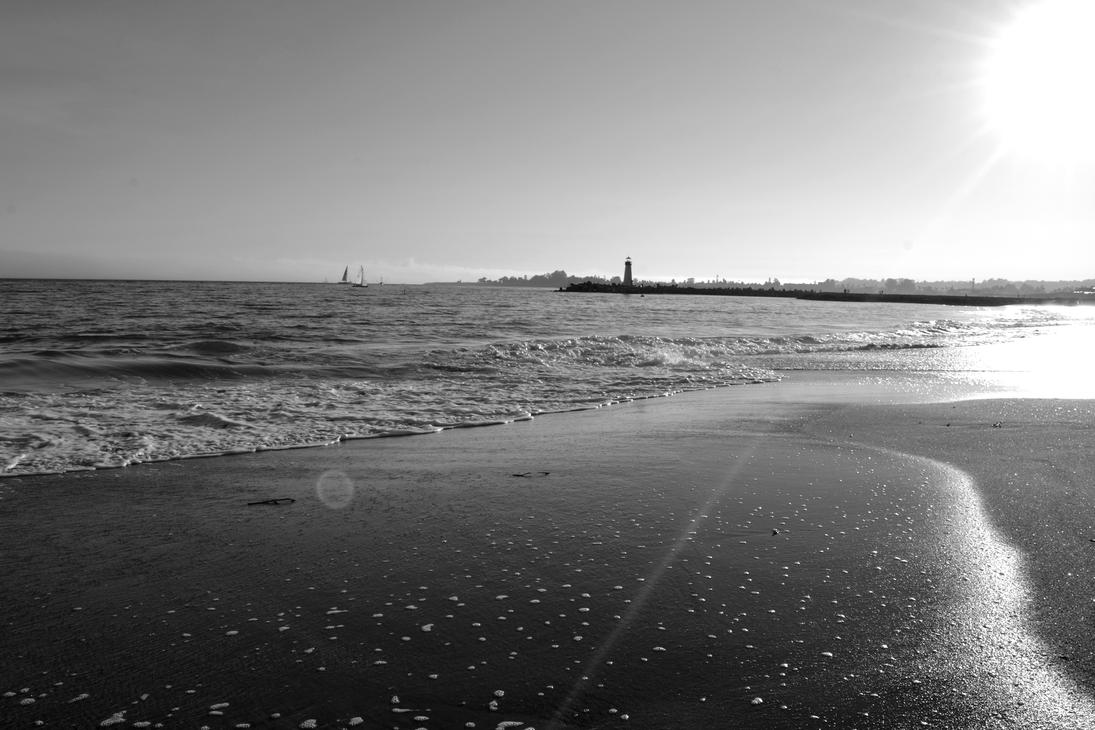 Santa Cruz Beach by Sinnocently