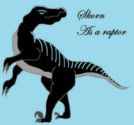Skorn, the raptor by Toef