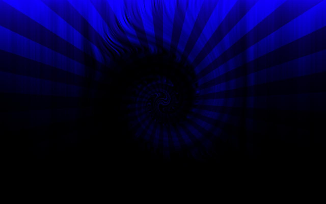 Blue Spirals Wallpapers: Black Blue Spiral By ShippD On DeviantArt