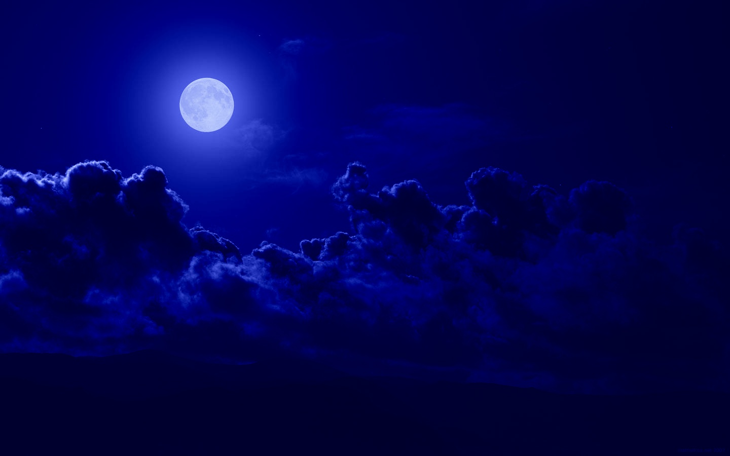 blue night sky background - photo #28