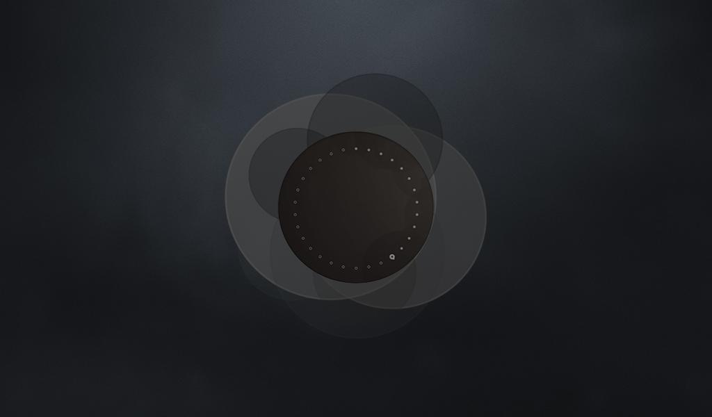 Ubuntu touch welcome screen dark1