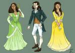 Alexander Hamilton - Angelica and Eliza Schuyler