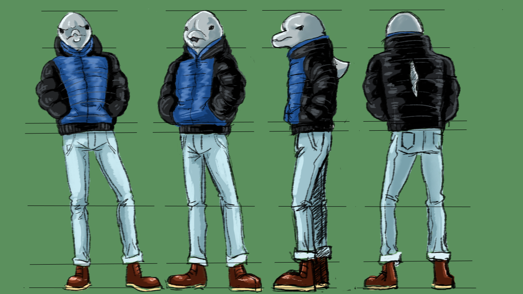 Dolphinman Character Sheet by laoan