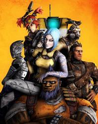 Borderlands 2 Vault Hunters