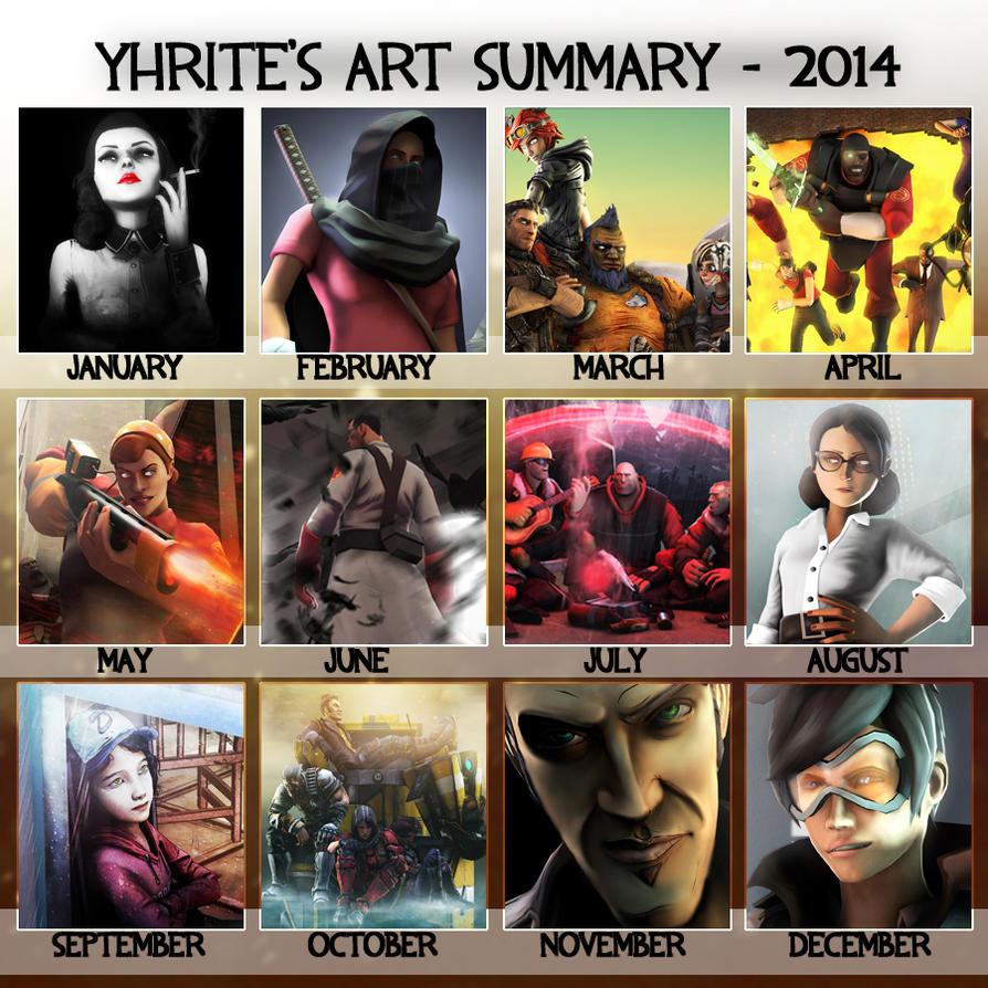 Art Summary 2014 by Yhrite